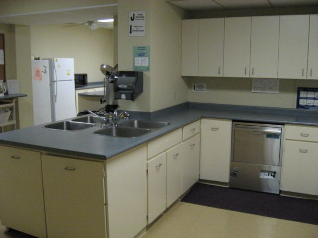 Church Hall kitchen w/dishwasher