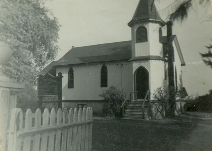 Origianl Church built 1861