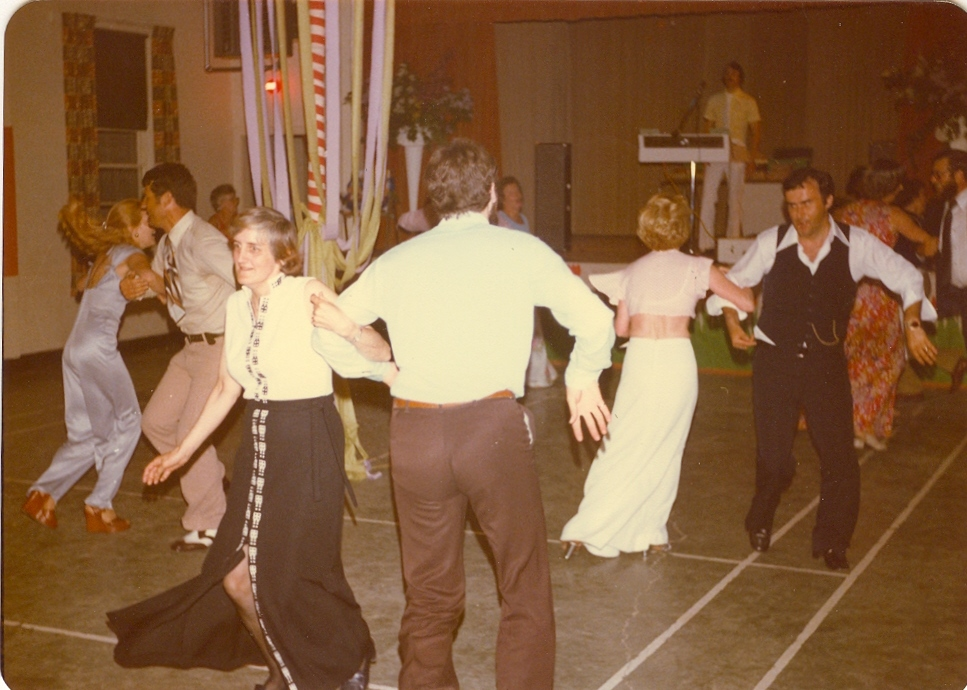 Dancing in the Old Parish Hall